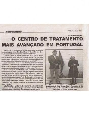 Villa Ramadas - o centro de tratamento mais avançado em Portugal