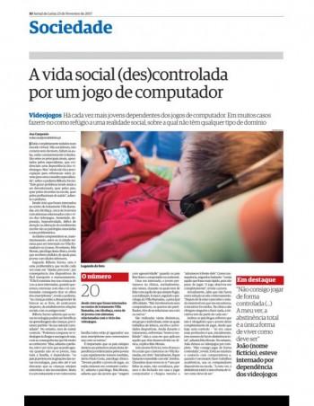 A vida social (des)controlada por um jogo de computador