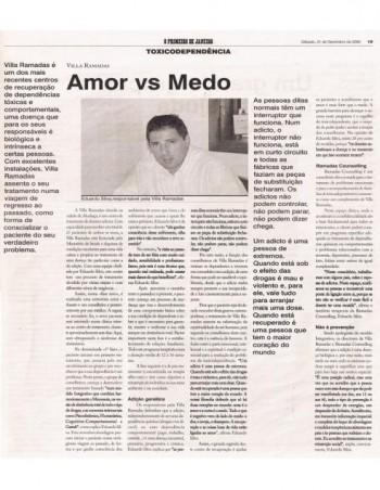 Amor vs Medo