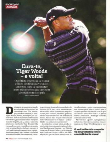 Cura-te Tiger Woods e volta!