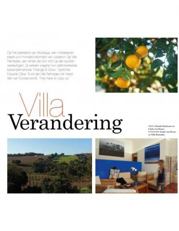 Reportagem Revista Holandesa LEF