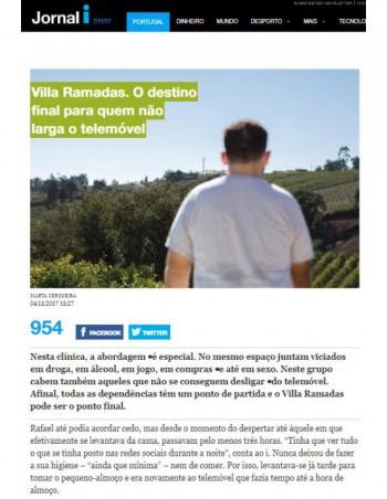 Villa Ramadas. O destino final para quem não larga o telemóvel