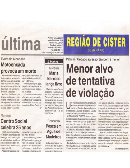 Aliceira - Maria Barroso lança livro